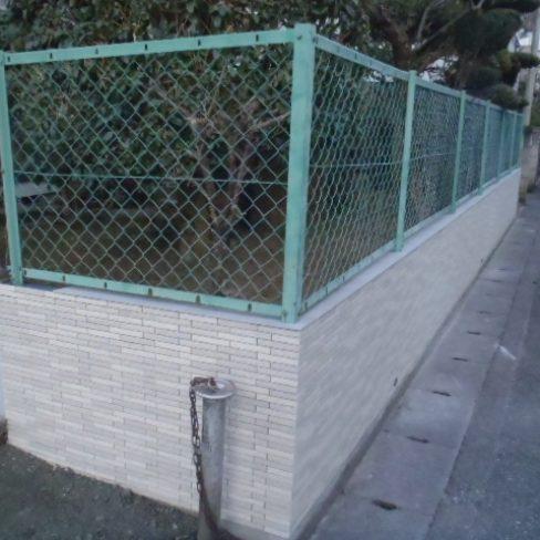 ブロック塀タイル張り工事サムネイル