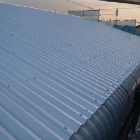 工場屋根改修工事サムネイル
